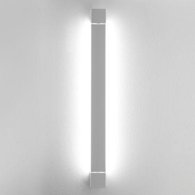 Applique Pivot LED / Plafonnier - L 57 cm - Fabbian blanc en métal