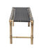 Vida Bench - / L 115 cm - Collapsible legs by Bloomingville