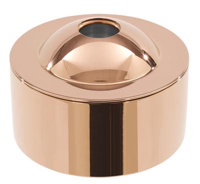 Kitchenware - Kitchen Storage Jars - Brew Biscuit tin - Ø 16 cm by Tom Dixon - Copper - Stainless steel
