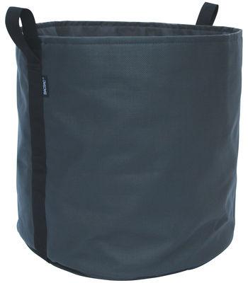 Outdoor - Töpfe und Pflanzen - Batyline® Blumentopf / Outdoor-Version - 100 l - Bacsac - Asphalt/schwarz - Toile Batyline®