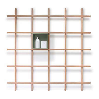 Mobilier - Etagères & bibliothèques - Casier / Pour bibliothèque Mike - Compagnie - Casier / Vert pâle - MDF laqué