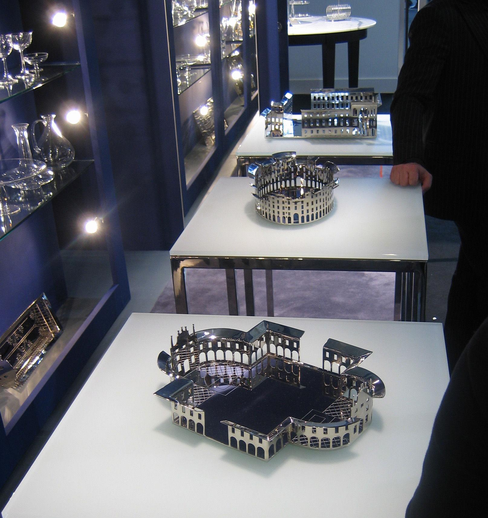 Centre de table 100 piazze palmanova palmanova driade - Centre de table design ...