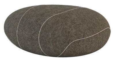 Coussin Xavier Livingstones / Laine - 50 x 40 cm - Smarin marron en tissu