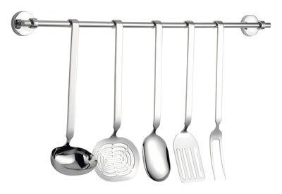 Kitchenware - Kitchen Equipment - Cinque Stelle Kitchenware set - 5 pieces by Serafino Zani - Polished stainless steel - Polished stainless steel
