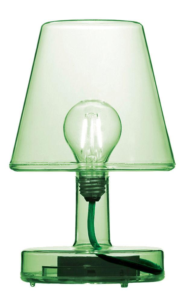 lampe ohne kabel transloetje von fatboy gr n made in. Black Bedroom Furniture Sets. Home Design Ideas