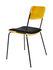 Double jeu Padded chair - / Velvet by Maison Sarah Lavoine