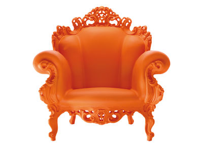 Arredamento - Mobili Ados  - Poltrona Magis Proust di Magis - Arancione - Polietilene rotostampato