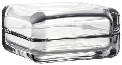 Dekoration - Schachteln und Boxen - Vitriini Schachtel / 11 x 11 cm - Iittala - Transparent - Glas