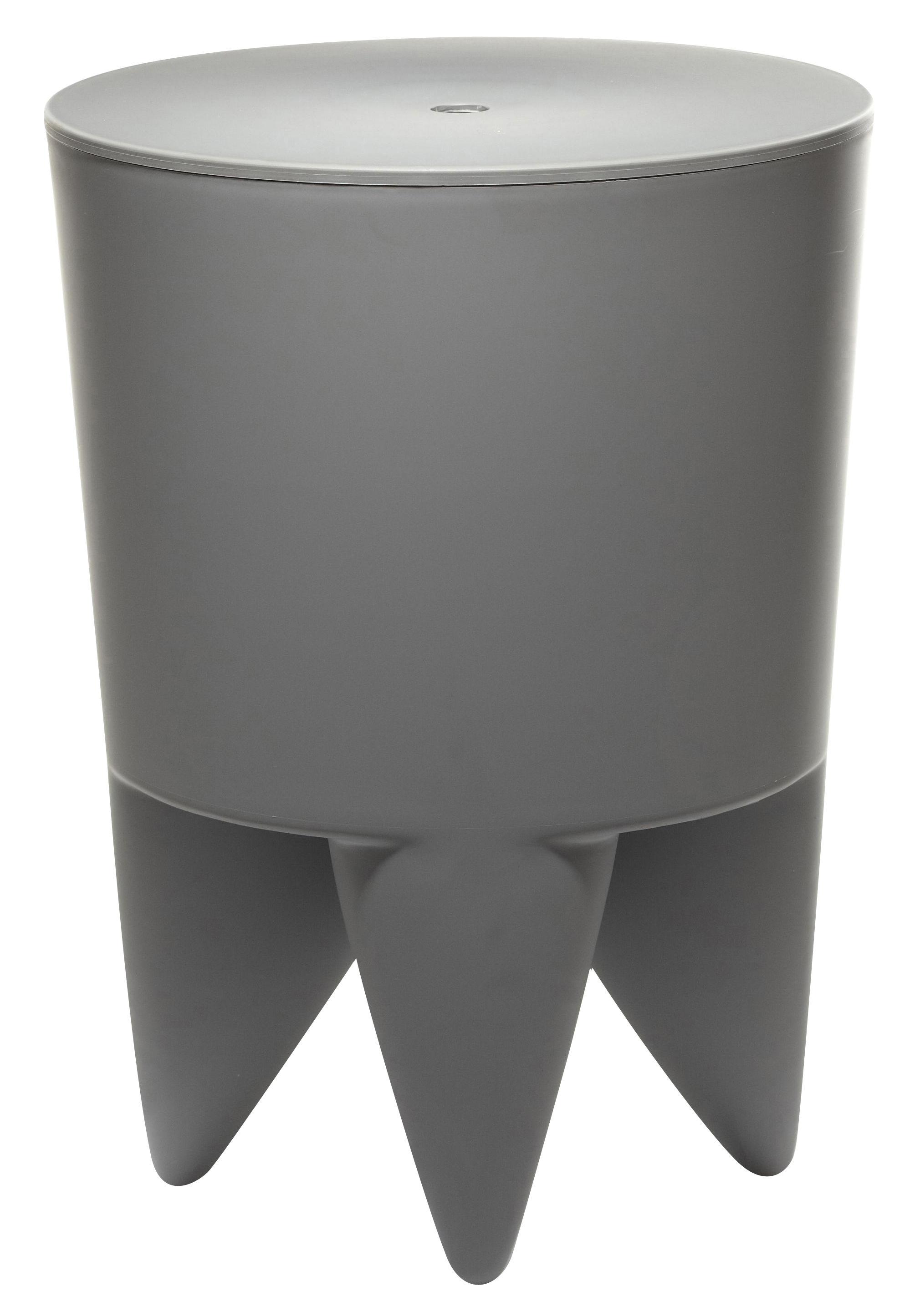 Arredamento - Mobili Ados  - Sgabello New Bubu 1er - Opaco di XO - Grigio topo - Polipropilene