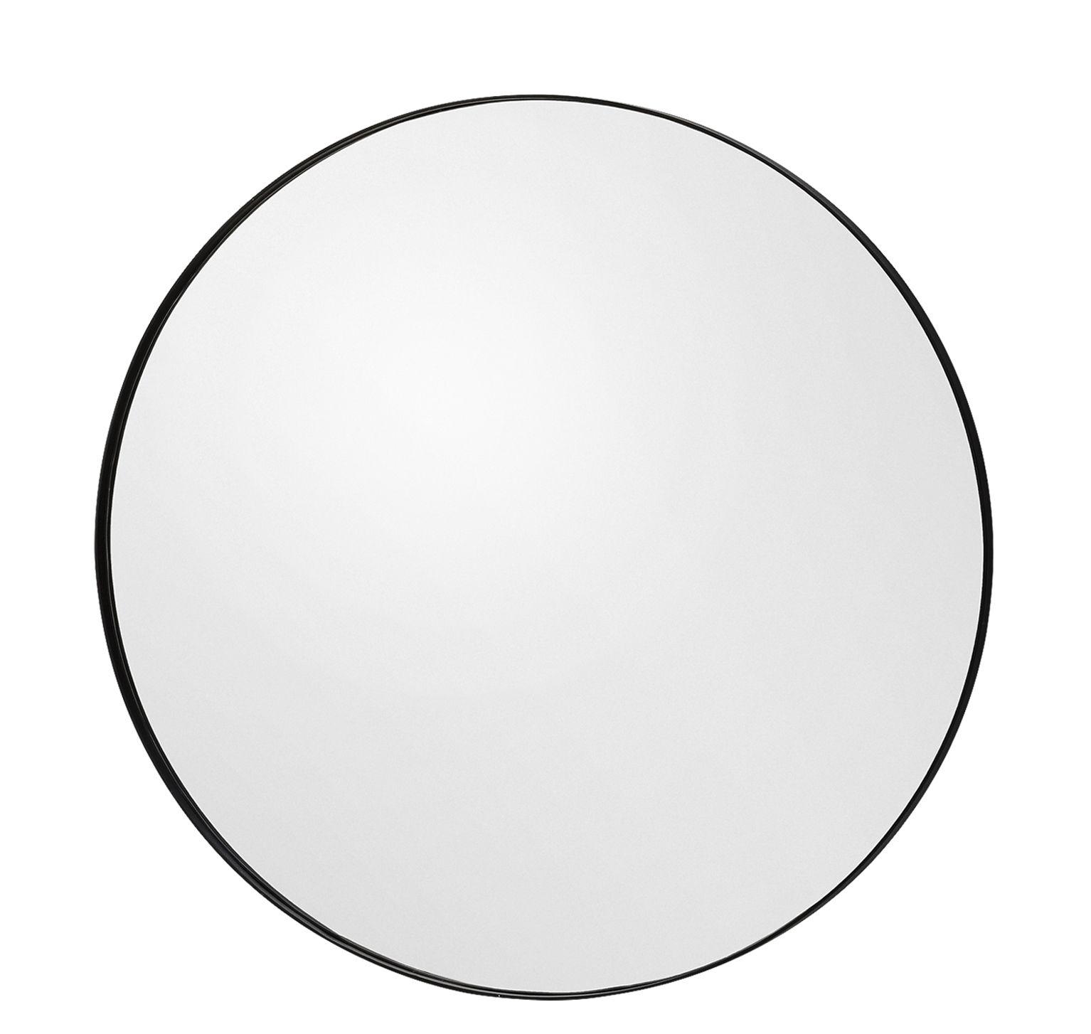 Interni - Specchi - Specchio Circum Small / Ø 70 cm - AYTM - Grigio fumé - MDF tinto, Vetro