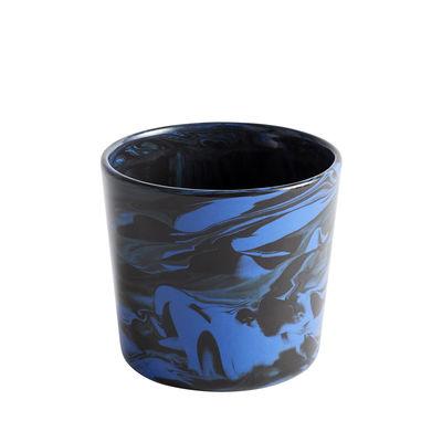 Arts de la table - Tasses et mugs - Tasse Marbre / Porcelaine - Hay - Bleu & noir - Grès, Porcelaine