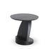 Tavolino d'appoggio Oblic - / Teck - Ø 52 cm di Ethnicraft