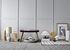 Tischleuchte / Lin & terre cuite - H 58 cm - Bloomingville