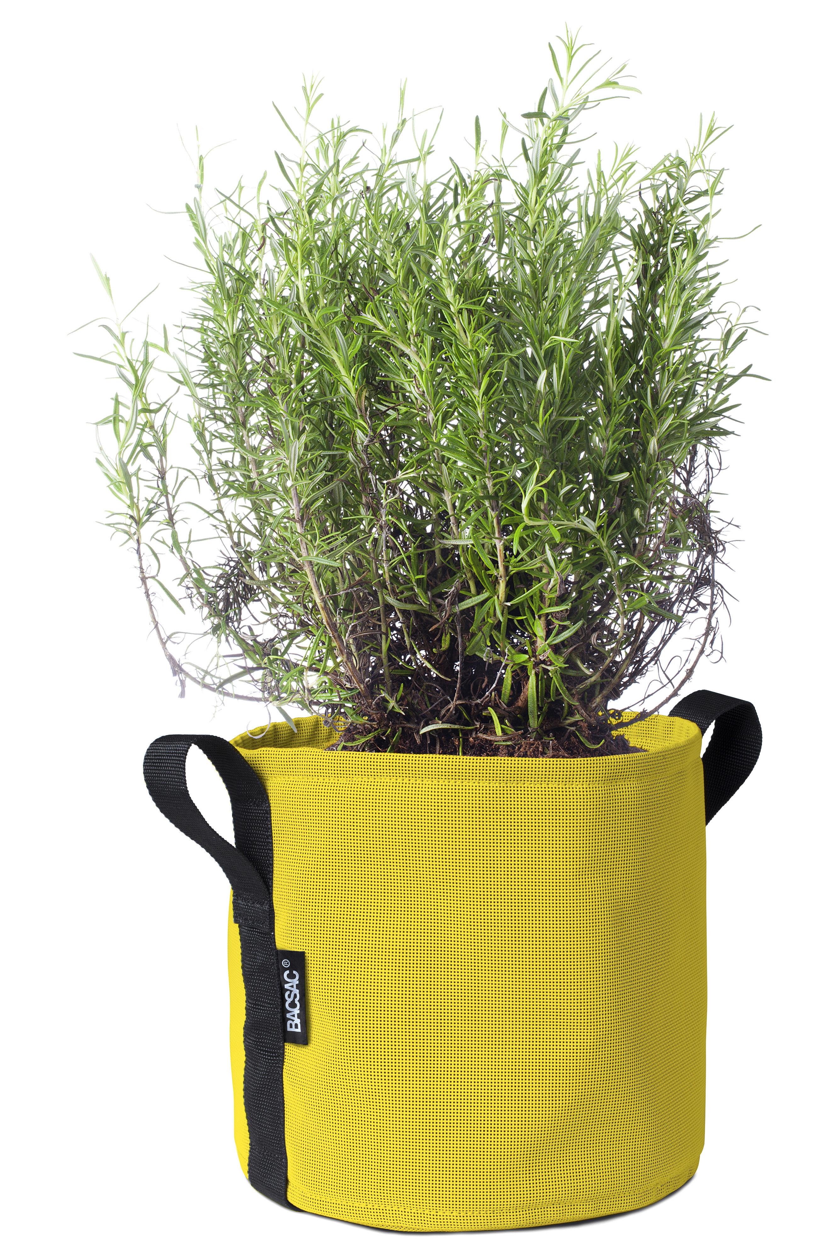 Outdoor - Vasi e Piante - Vaso per fiori Batyline® - / Esterno- 10 L di Bacsac - Giallo limone - Toile Batyline®
