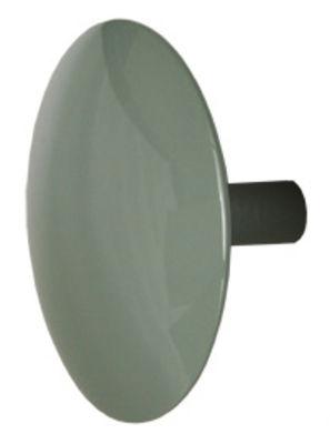 Möbel - Garderoben und Kleiderhaken - Manto Fluo Pastel Wandhaken Ø 10 cm - Sentou Edition - Hellgrau - Ø 10 cm - gefirnistes Gussaluminium