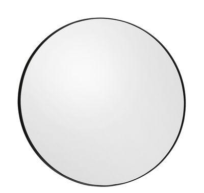 Dekoration - Spiegel - Circum Small Wandspiegel / Ø 70 cm - AYTM - Rauchgrau - Glas, mitteldichte bemalte Holzfaserplatte
