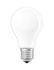 Ampoule LED E27 dimmable / Standard dépolie - 7W=60W (2700K, blanc chaud) - Osram