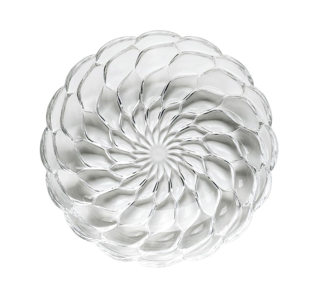 Arts de la table - Assiettes - Assiette creuse Jellies Family / Ø 22 cm - Kartell - Cristal - Technopolymère thermoplastique