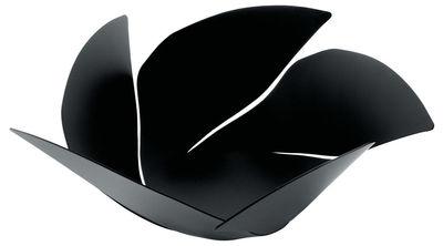 Tableware - Fruit Bowls & Centrepieces - Twist Again Basket - Ø 29 cm by Alessi - Black - Painted stainless steel
