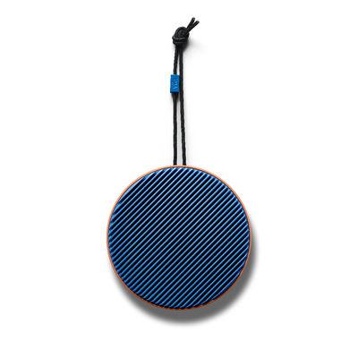 aktion - Unsere Favoriten von 2020 - City Bluetooth-Lautsprecher / Kabellos - Ø 10,5 cm - Allround-Sound - Vifa - Terrakotta / Blau - ABS, Aluminium