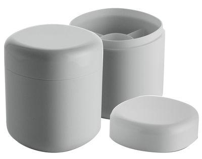 Déco - Salle de bains - Boîte Birillo pour cotons-tiges - Alessi - Blanc - PMMA