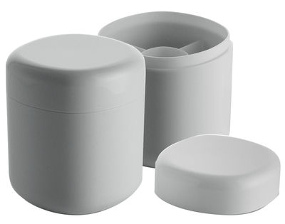 Decoration - For bathroom - Birillo Box - For cotton buds by Alessi - White - PMMA