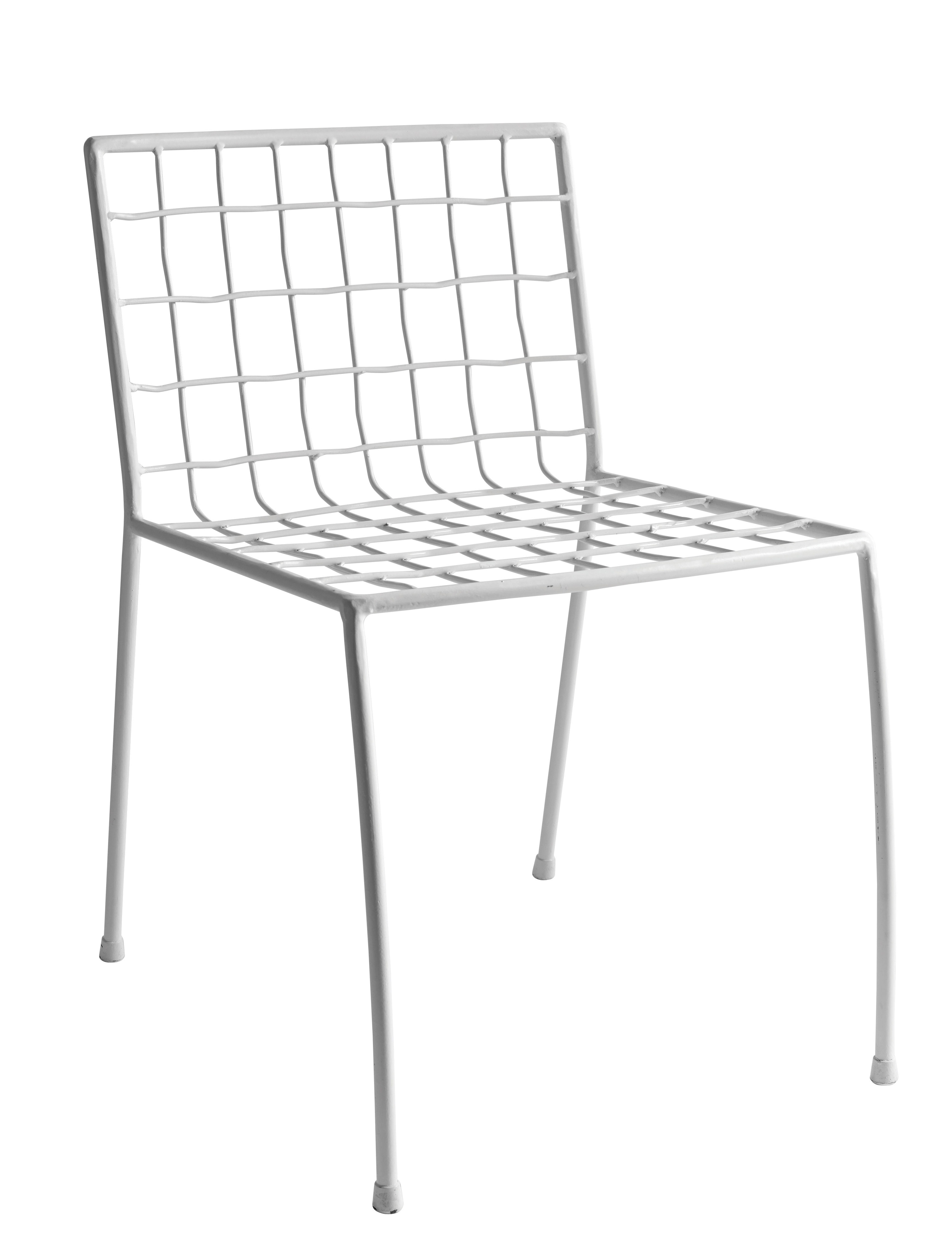 Furniture - Chairs - Commira Chair - Metal by Serax - White - Painted iron