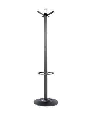 Furniture - Coat Racks & Pegs - Segmenti Coat stand by Kartell - Black - Fibreglass, Nylon