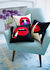 Lips Full Dose Cushion - / Hand-embroidered - 46 x 46 cm by Jonathan Adler