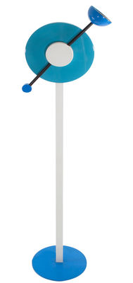 Lighting - Floor lamps - Charleston Floor lamp by Memphis Milano - Multicolored - Lacquered aluminium, Lacquered cast iron