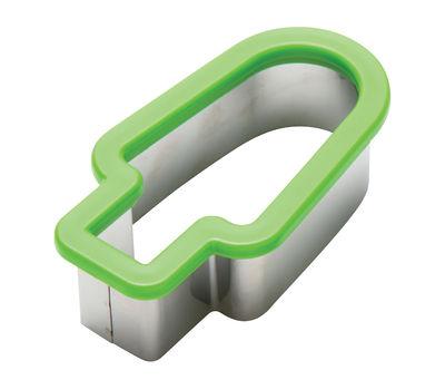 Accessori moda - Pratici e intelligenti - Formine Pepo - / Per tagliare l'anguria di Pa Design - Verde / Acciaio - Acciaio inossidabile, Plastica rigida