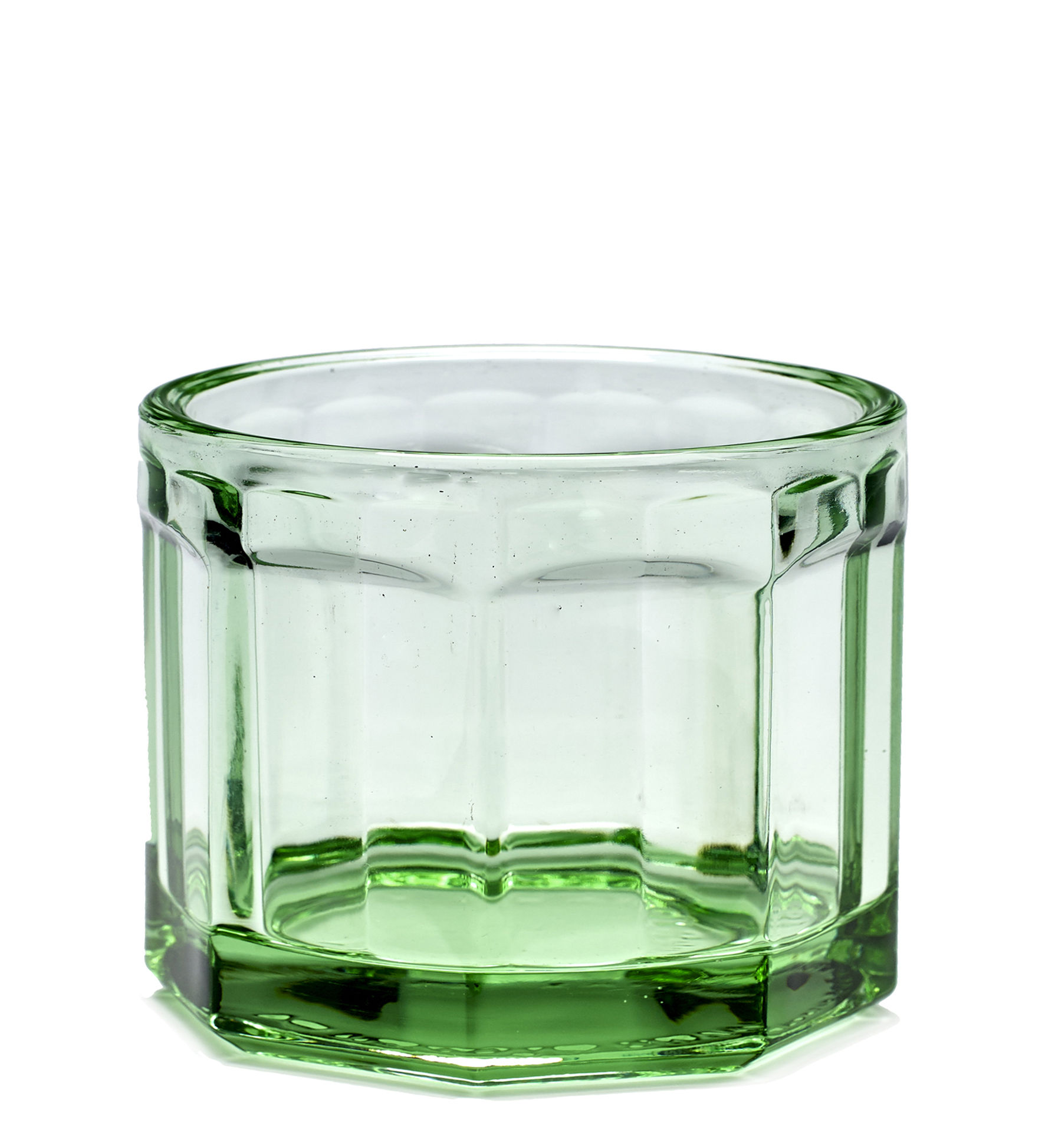 Tableware - Wine Glasses & Glassware - Fish & Fish Small Glass - 16 cl by Serax - Transparent green - Pressed glass