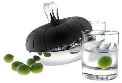 Tableware - Wine Accessories - Ice-cube tray by Eva Solo - Black - Steel - Silicone, Stainless steel