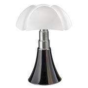 Lampe de table Pipistrello 4.0 Tunable White / Bluetooth - H 66 à 86 cm - Martinelli Luce noir en métal/matière plastique