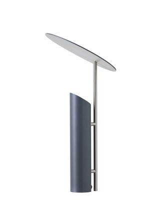 Luminaire - Lampes de table - Lampe de table Reflect / Verner Panton ( 1980) - Verpan - Gris - Acier laqué époxy