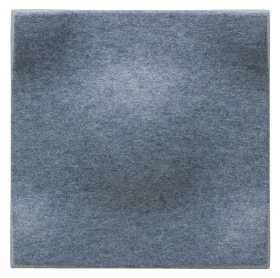 Mobilier - Paravents, séparations - Panneau acoustique mural Soundwave Swell - Offecct - Gris clair - Fibre de polyester