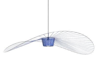 Lighting - Pendant Lighting - Vertigo Large Pendant - / Ø 200 cm by Petite Friture - Cobalt blue - Fibreglass, Polyurethane