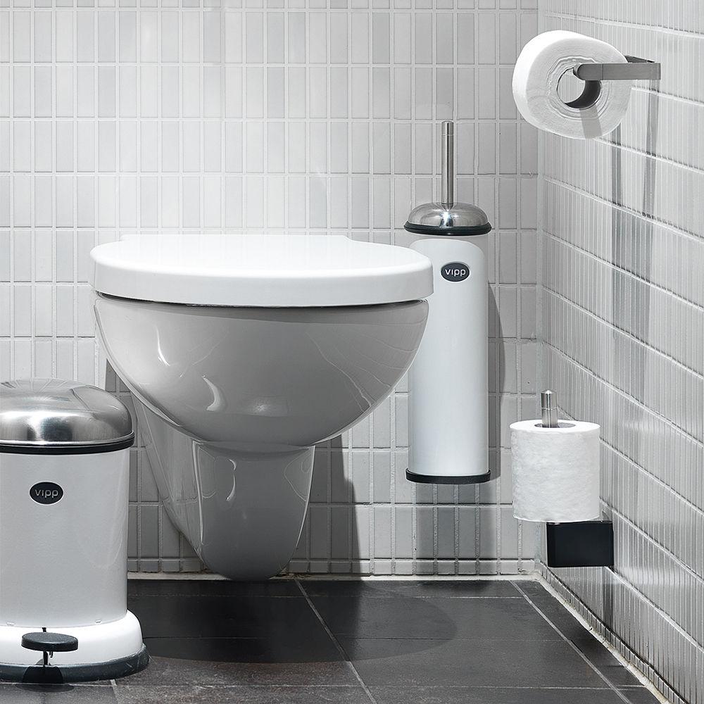 porte rouleau papier toilette vipp 4 pour rouleau de. Black Bedroom Furniture Sets. Home Design Ideas
