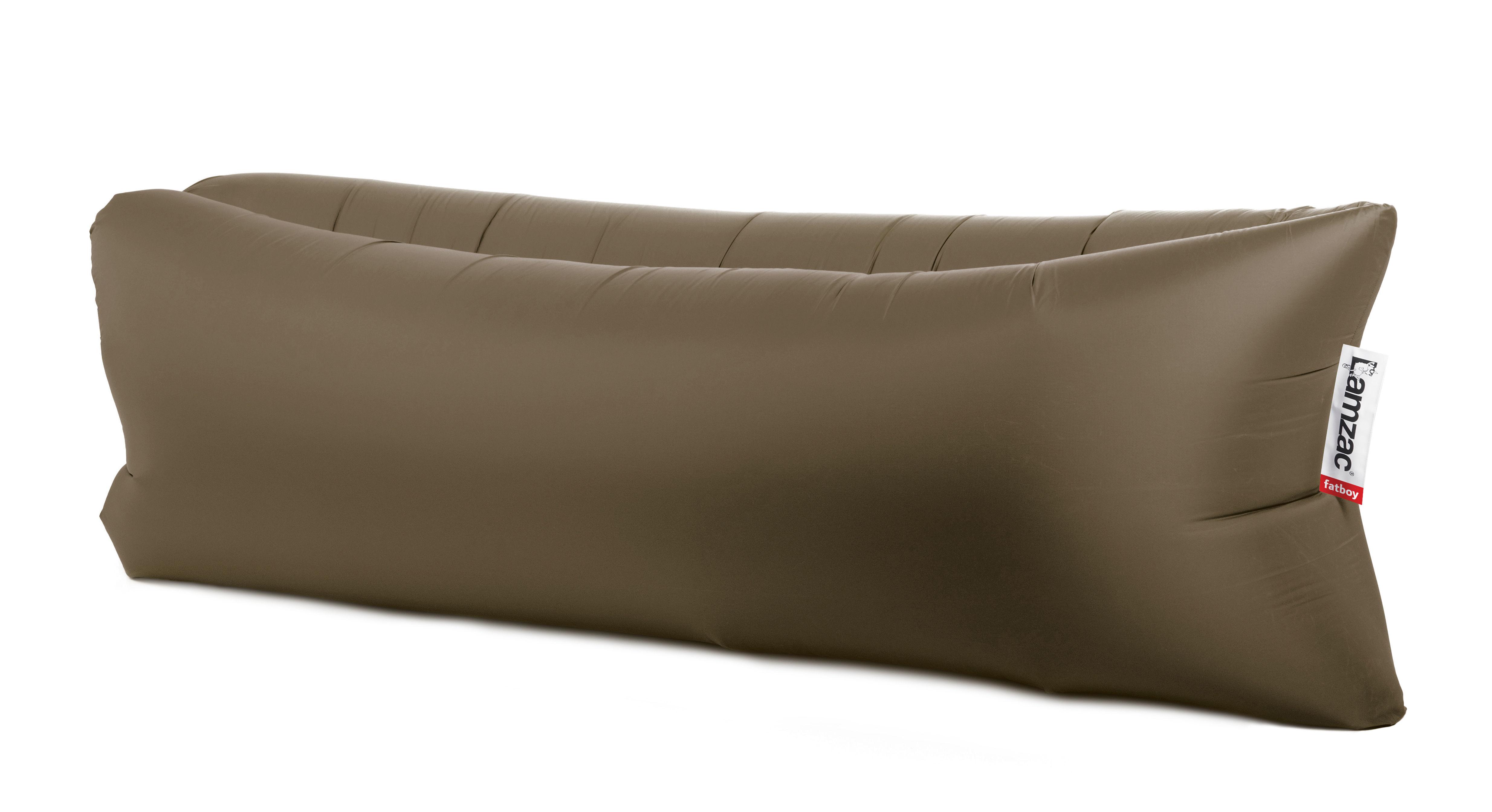 pouf lamzac the original gonflable l 200 cm vert olive fatboy made in design. Black Bedroom Furniture Sets. Home Design Ideas
