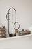 Obu Schmuckhalter / H 32,6 cm - Metall & Marmor - Ferm Living