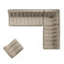 N701 Sofa / 3-Sitzer - l 210 cm / Stoff - Ethnicraft