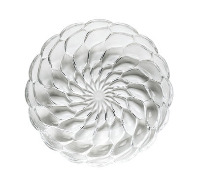 Tableware - Plates - Jellies Family Soup plate - Ø 22 cm by Kartell - Cristal - Thermoplastic technopolymer