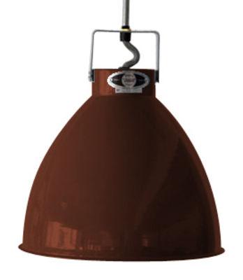 Suspension Augustin XL Ø 54 cm - Jieldé chocolat brillant en métal