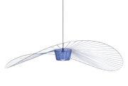 Suspension Vertigo Large / Ø 200 cm - Petite Friture bleu cobalt en matière plastique
