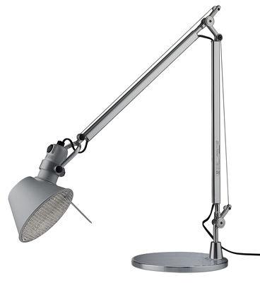 Leuchten - Tischleuchten - Tolomeo FLUO Tischleuchte Fluo-Version - Artemide - Aluminium - Leuchtstofflampe - Aluminium
