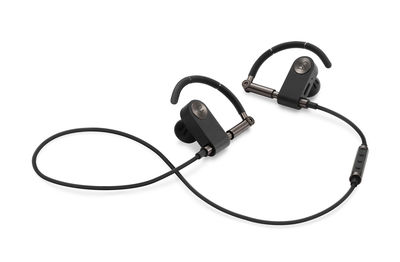 Accessories - Speakers & Audio - Earset wireless earphones - / Bluetooth by B&O PLAY by Bang & Olufsen - Graphite brown & black - Brushed aluminium, Foam, Polymer, Rubber