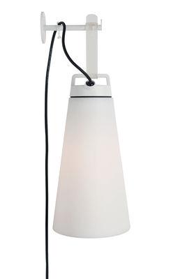 Image of Appendiabiti - / Per lampada Sasha di Carpyen - Bianco - Metallo