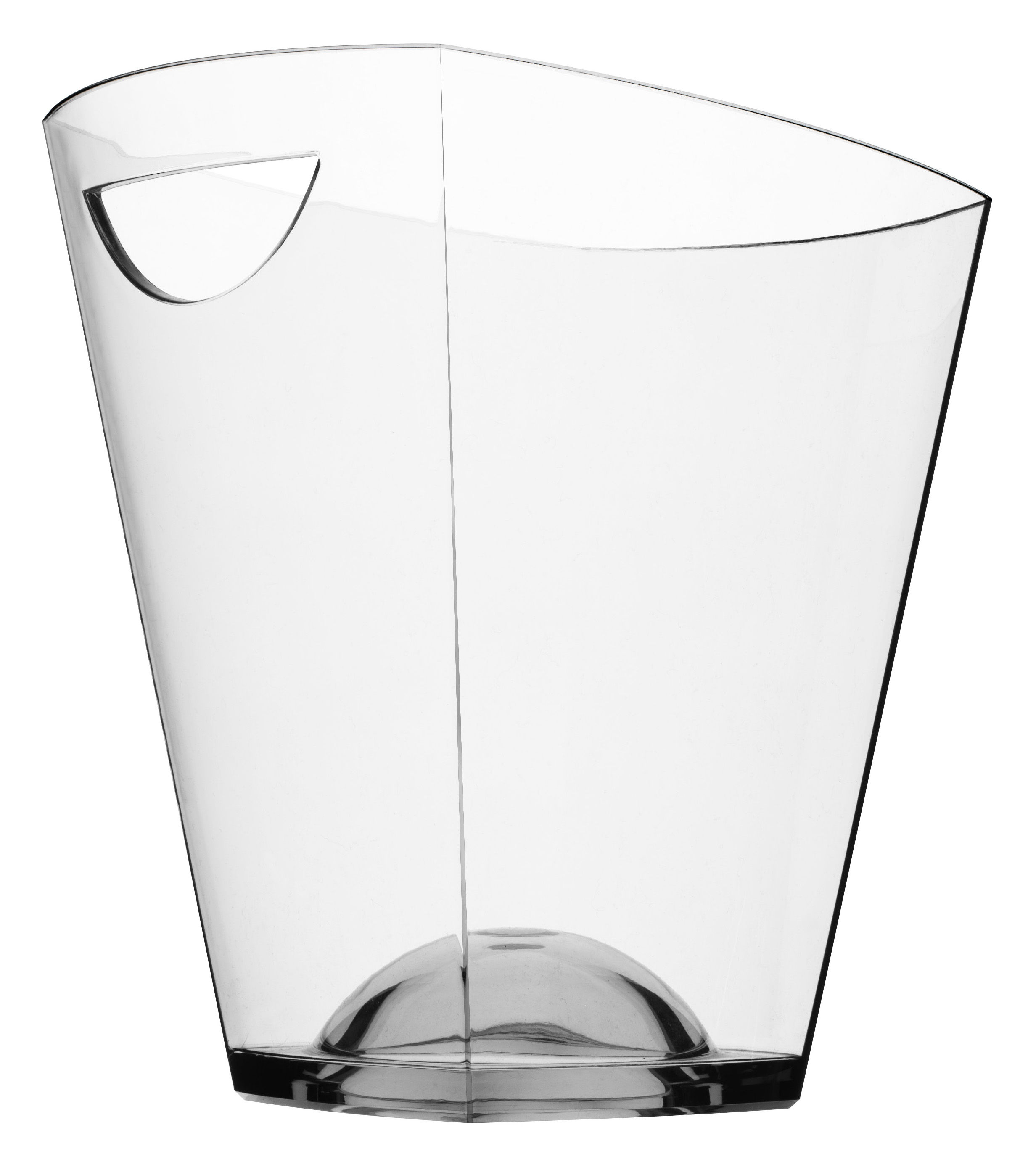 Tableware - Wine Accessories - Pagoda Champagne bucket - Cooler bucket by Italesse - Clear - Acrylic glass