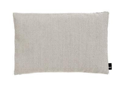 Coussin Eclectic / 45 x 30 cm - Hay noir,crème en tissu