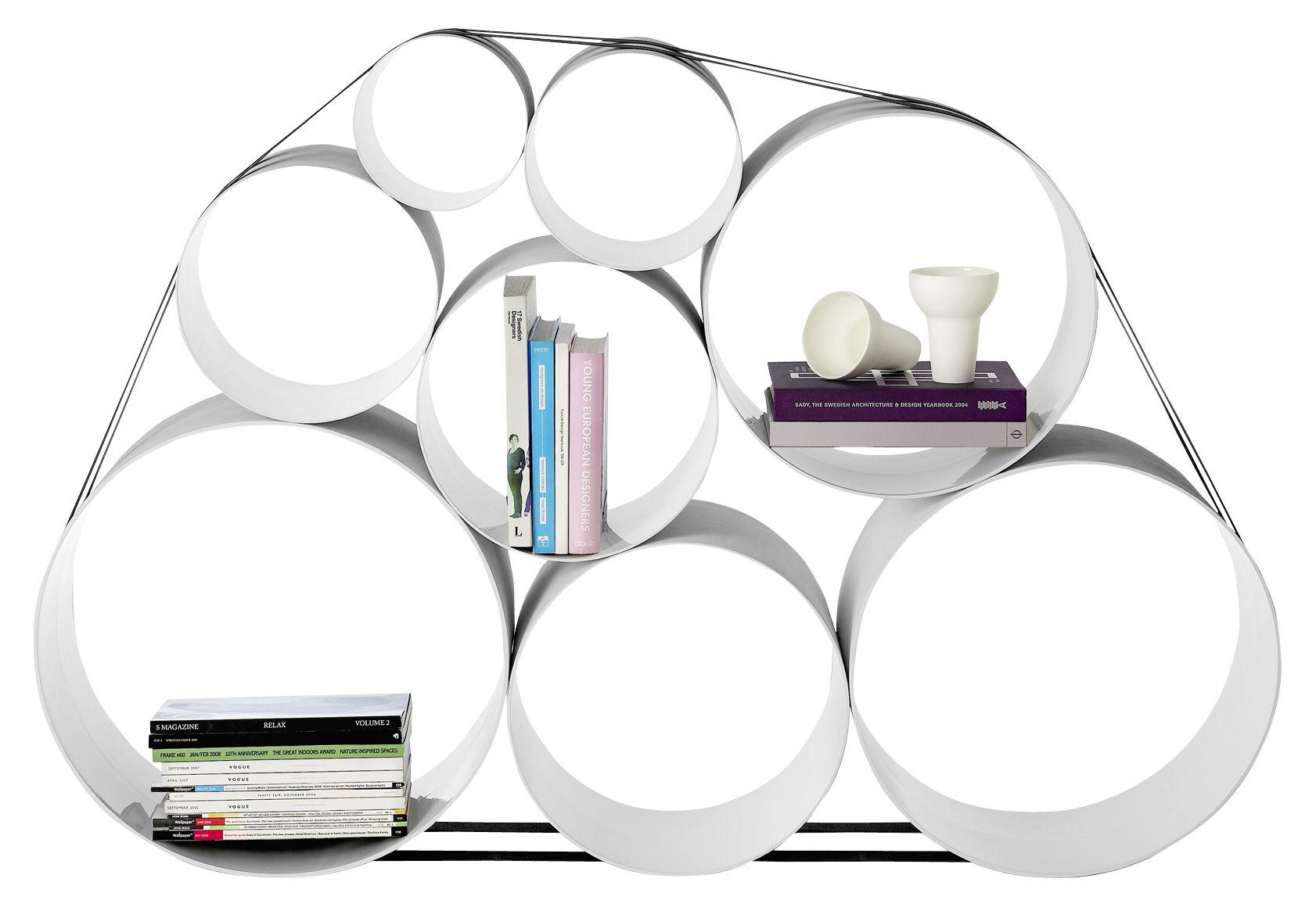 Mobilier - Etagères & bibliothèques - Etagère OTO100 - Muuto - Blanc - Fibre de verre
